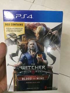 WTS - The Witcher 3 DLC Blood and Wine Expansion Pack