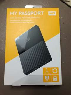 WD Passport 3.0 USB Portable Hard Drive