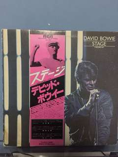 David Bowie - Stage LP Vinyl
