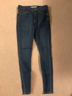 Topshop Leigh skinny jeans 28