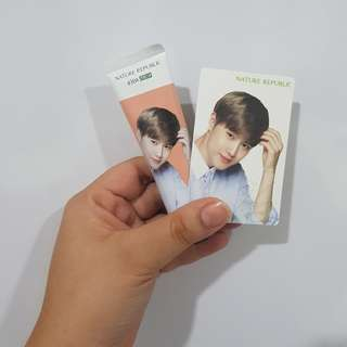 [NEW] Nature Republic x EXO Hand Cream - SUHO