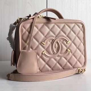 Chanel Vanity Case (Just look at the price without looking at quality.Please bypass,Tq)