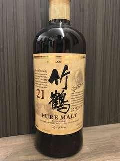 日本威士忌 竹鶴21年