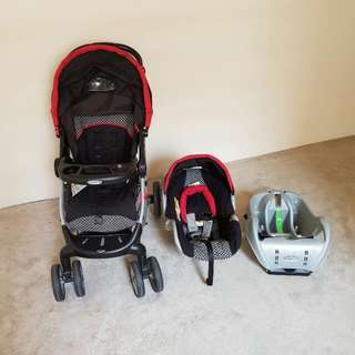 Graco Click Connect Travel System/Stroller, Kids