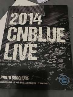 CNBLUE 2014 Can't Stop 周邊 Photo Brochure