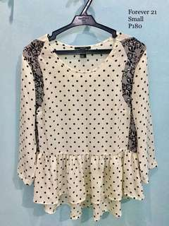 Forever21 Polka Dot top