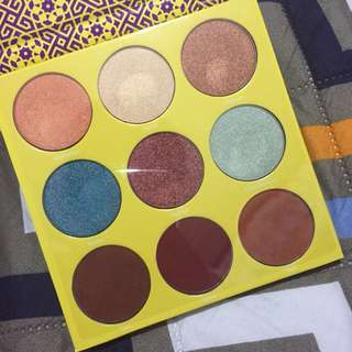 Authentic Juvia's Place Saharan 2 Eyeshadow Palette
