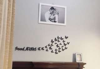 Hiasan dinding nama