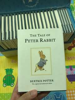 🐇 The World of Peter Rabbit-Complete collection of original Tales 1-23 White Jackets彼得兔🐰