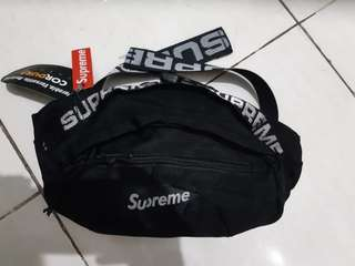 waistbag Supreme Season'18 hitam