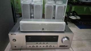 Yamaha Speaker RX-V463 (Neg)