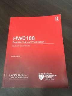Engineering Communication 1 (HW0188)