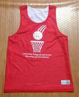 Preloved Basketball Jersey Reversible
