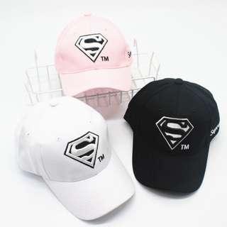🚚 Superman Supreme Tumblr Fashion Baseball Cap Korean Ulzzang