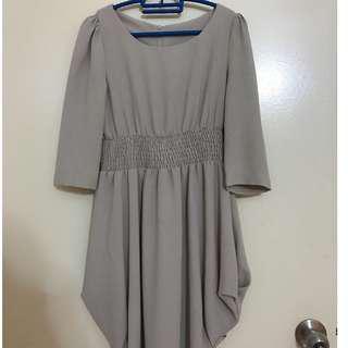 Beige colored dress preloved