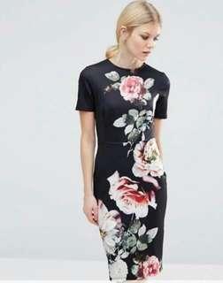 🐊Floral Elegant Dress