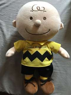 Original Charlie Brown Stuffed Toy