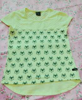 6-8Y yellow 👚