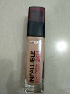 Loreal infallible stay fresh 24H Foundation shade 235
