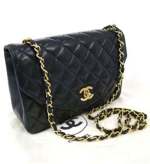 Chanel cc扣黑色 Chain Bag (Good condition, full set)