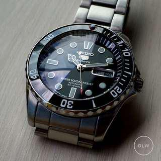 Ceramic Bezel Insert For Seiko Urchin Snzf Series