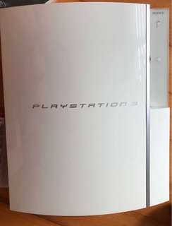 PS3 playstaion 3 white