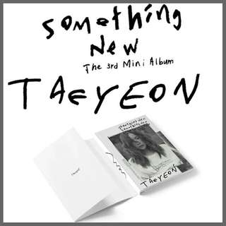 Taeyeon mini album vol.3