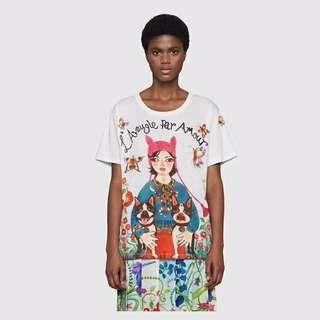 Gucci藝術畫作T恤 特惠款