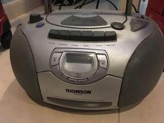 $5 Deal: Portable CD/Cassette/FM Player