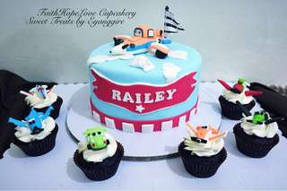 Customized Birthday Fondant Cake (Promo Sale)