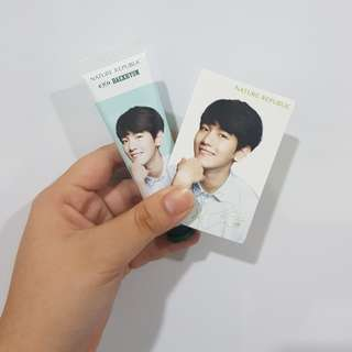 [NEW] Nature Republic x EXO Hand Cream - BAEKHYUN