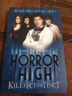 Horror High by Caroline B.Cooney
