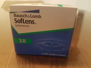 Bausch and Lomb Softlens 38