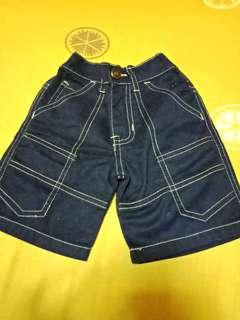 Maong Shorts  - 1-2y/o
