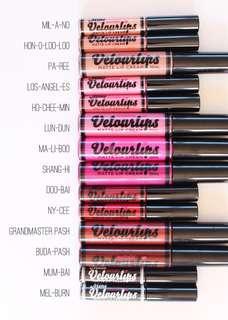 Australis Velourlips Matte Lip Creams