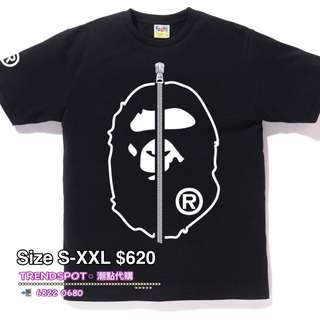 🆕 BAPE MENS (2色) ➖➖➖➖➖➖➖➖➖➖➖➖➖➖➖ 👇查詢或訂購可直接click 以下link👇 https://api.whatsapp.com/send?phone=85268220680  ➖➖➖➖➖➖➖➖➖➖➖➖➖➖➖ ✅ 歡迎使用 HSBC PAYME ‼️ ➖➖➖➖➖➖➖➖➖➖➖➖➖➖➖ 📲WhatsApp 68220680/ FB inbox https://www.facebook.com/trendspotonline/ Ig: trendspot buyer