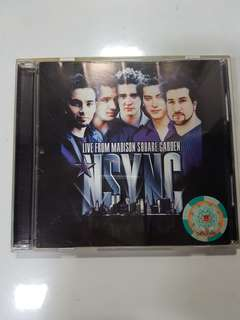 VCD - Nsync - Live From Madison Square Garden