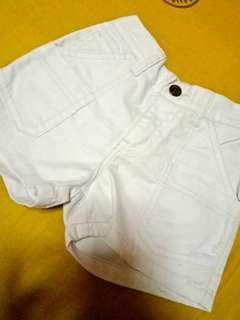 White Shorts-3y/o