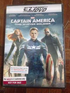 Captain America : The Winter Soldiers DVD