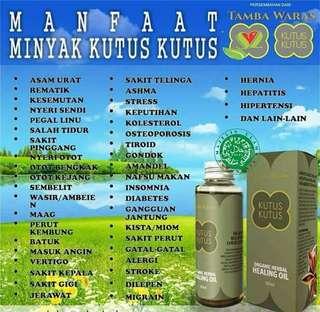 Minyak Kutus Kutus (free tutup spray)