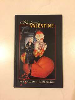 Harlequin Valentine graphic novel, by gaiman and bolton