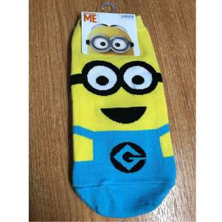 Cute Despicable Me - Minion Socks (Must Buy!)