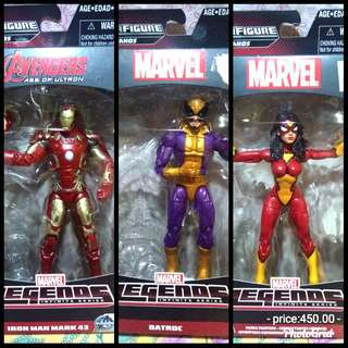 MARVEL INFINTY ironman,spider woman and batroc