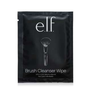 E.l.f. Brush Cleanser Wipes