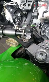 Z1000SX Handle Bar Extension
