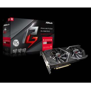 ASRock Phantom Gaming RX580 OC 8GB