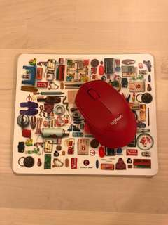 G.O.D mouse pad