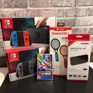 [NEW] Nintendo Switch Mario Tennis Bundle