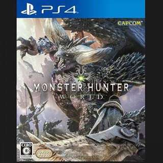 monster hunter ps4
