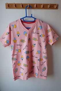 ice cream summer tshirt
